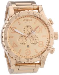 Nixon A083-897 The 51-30 Chrono All Rose Gold Watch