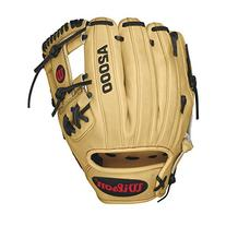 Wilson A2000 Infield Baseball Glove, Blonde/Black/Red, Right