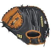 Wilson A2000 Pudge Baseball Catcher's Mitt, Orange Tan/Black