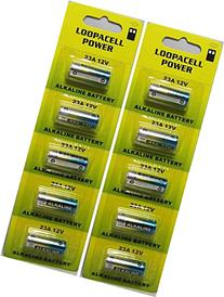 A23 12-Volt Alkaline Battery  By Loopacell