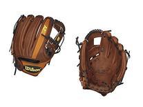 Wilson A2K DP Infield Baseball Glove, Walnut/Orange Tan/