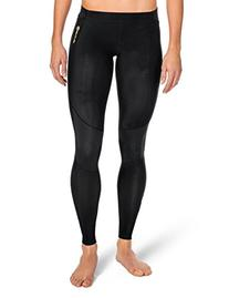 SKINS Women's A400 Compression Long Tights, Black, Small