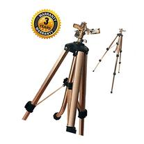 Brass Impact Tripod Sprinkler with Heavy Duty Brass Impact