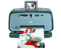 HP A618 Photosmart Compact Photo Printer with Built-in