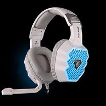 Sades A70 White Light Changing 6 Color USB Gaming Headset,7.