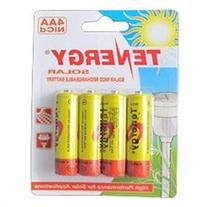 Tenergy AA 1000mAh NiCd Rechargeable Batteries for Solar