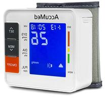 AccuMed ABP801 Portable Wrist Blood Pressure Monitor with