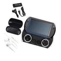 eForCity AC Charger + BK EVA Case + LCD Protector + headset