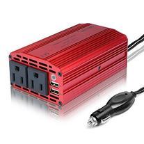 BESTEK 300W Power Inverter DC 12V to 110V AC Car Inverter