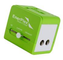 EnerPlex AC-TRVL-GR Travel Adaptor, Green