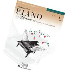 Accelerated Piano Adventures For The Older Beginner,