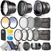 58MM Professional Accessory Kit for CANON EOS REBEL  -