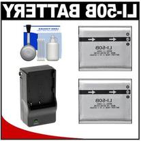 Power2000 ACD-286 Rechargeable Li-Ion Battery for Olympus Li