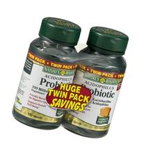 Nature's Bounty Acidophilus Probiotic Tablets - 2 PK/200 CT