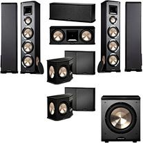 BIC Acoustech PL-980 7.1 Home Theater System-NEW!! PL-200II
