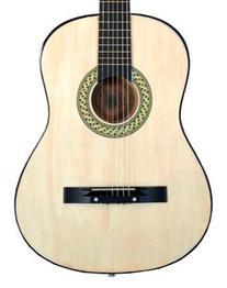 """38"""" NATURAL Acoustic Guitar Starter Package, Guitar, Gig Bag"""