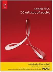 Adobe Acrobat Pro DC Student and Teacher Edition Windows -