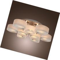 LightInTheBox Acrylic Chandelier with 9 lights, Flush Mount