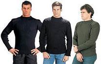 Rothco Acrylic Commando Sweater, Black, 3X-Large