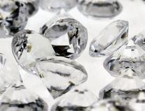 Acrylic Crystal Diamond Confetti Table Scatter 3/4 1 lb. Bag