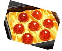 Phoenixnet Acrylic Dragonball Crystal Ball Set of 7pcs Small