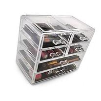 Acrylic Drawer makeup organizer With Removable Drawers 2