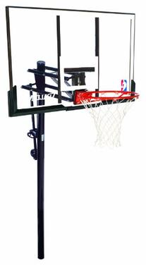 "Spalding 54"" Acrylic, 3.5"" In-Ground Basketball System"