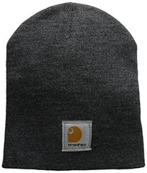 Carhartt Men's Acrylic Knit Hat, Coal Heather, One Size