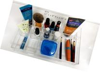 KAMAY'S Acrylic Vanity Top Organizer Drawer Caddy Makeup