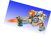 WolVol Kids Police Pistol Gun with Action Lights & Sounds