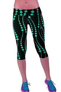 Women's Active Workout Capri Leggings Shorts Stretchy Tights