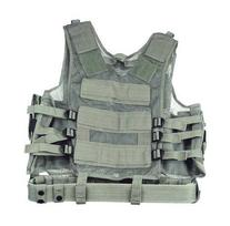 ACU Digital Camo Tactical Vest Army Rt Handed Holster
