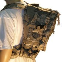 ACU Deluxe Assault Backpack With Water Pouch