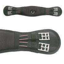 "Ovation AcuGel Dressage Girth - Size:24"" Color:Black"