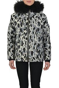 Women's ADA Real Fur Trim Down Parka Jacket - SZ 3 US L