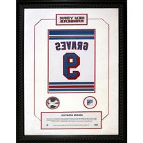 Adam Graves #9 Retired Number New York Rangers 14 Inch X 20