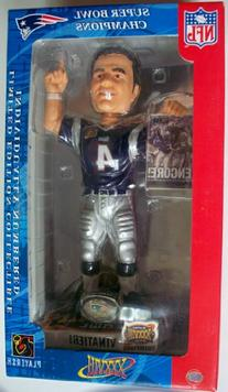Adam Vinatieri New England Patriots Super Bowl 38  Champions