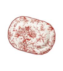 222 Fifth Adelaide Maroon Platter Oval 14