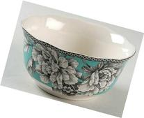 222 Fifth Adelaide Turquoise Cereal Bowls, Set of 4