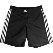 Adidas aA201s Wrestling Shorts, Black/White, X-Large