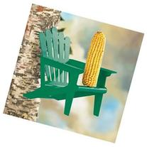 Adirondack Chair Squirrel Feeder - Green
