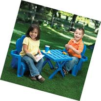 American Plastic Toys Adirondack Table and Chair Set