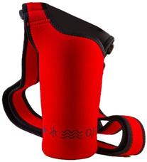 NEOSLING, Adjustable Neoprene Bottle Holder, Racecar Red