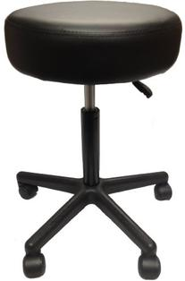 Adjustable Rolling Pneumatic Stool for Massage Tables,