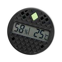 Madelaine Adjustable Round Digital Hygrometer