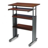 Safco® Adjustable Height Stand-Up Workst