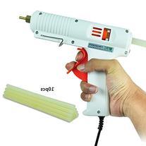 BSTPOWER Glue Gun and Sticks 100W Professional Adjustable