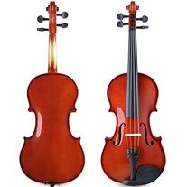 ADM 1/4 Size Handcrafted Solid Wood Student Acoustic Violin