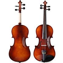 ADM 4/4 Full Size Handmade Wooden Acoustic Violin Outfit