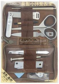 SEKIE EDGE AG-500- Adonis 9-piece Grooming Kit